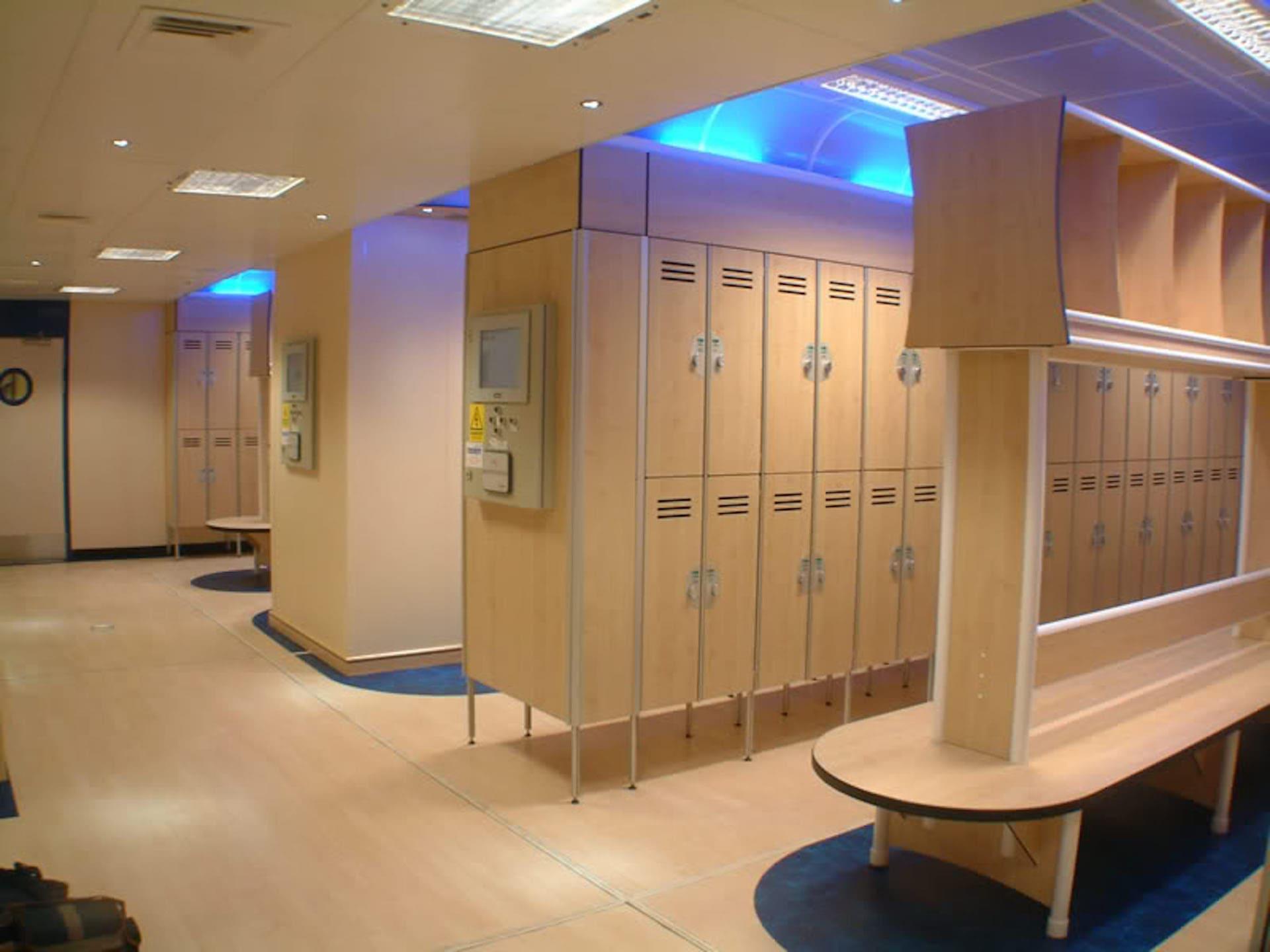 Buzzard locker room