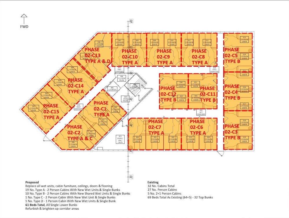 Section 4.2 - Sht 001 Deck-C Cabin _ Wet Unit Phasing_page-0001
